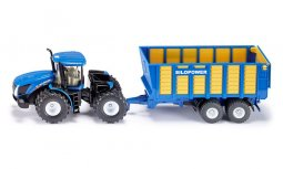 New Holland med ensilagevagn